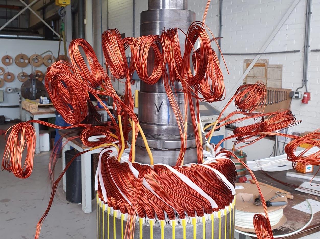 Rotating Repairs Rotterdam rewinding